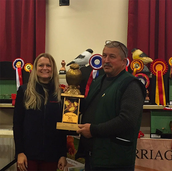 Best In Show' Winner Dave Rands with Marriage's Lisa Osborne