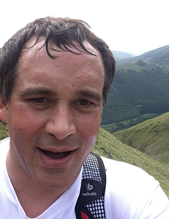 Marriage's Complete 'Three Peaks Challenge'