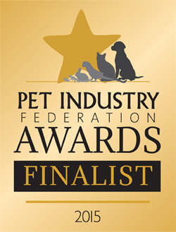 Pet Industry Federation Awards Finalist 2016