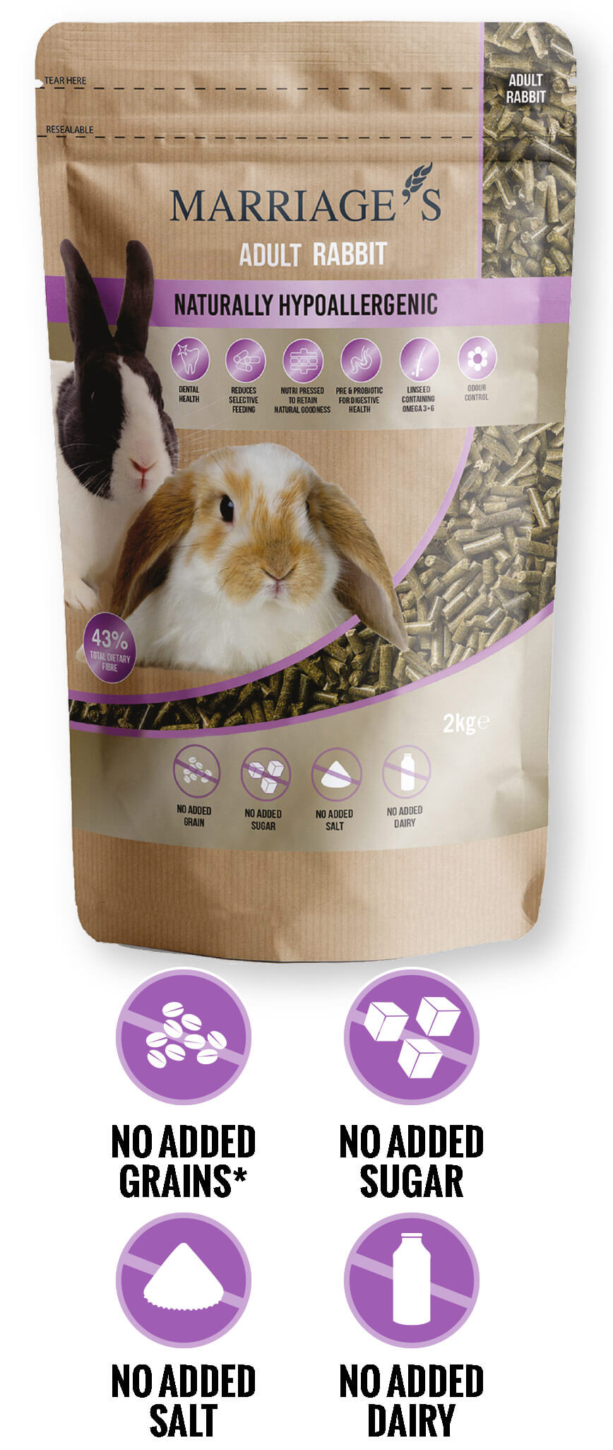 Nutri Pressed Rabbit Pellet